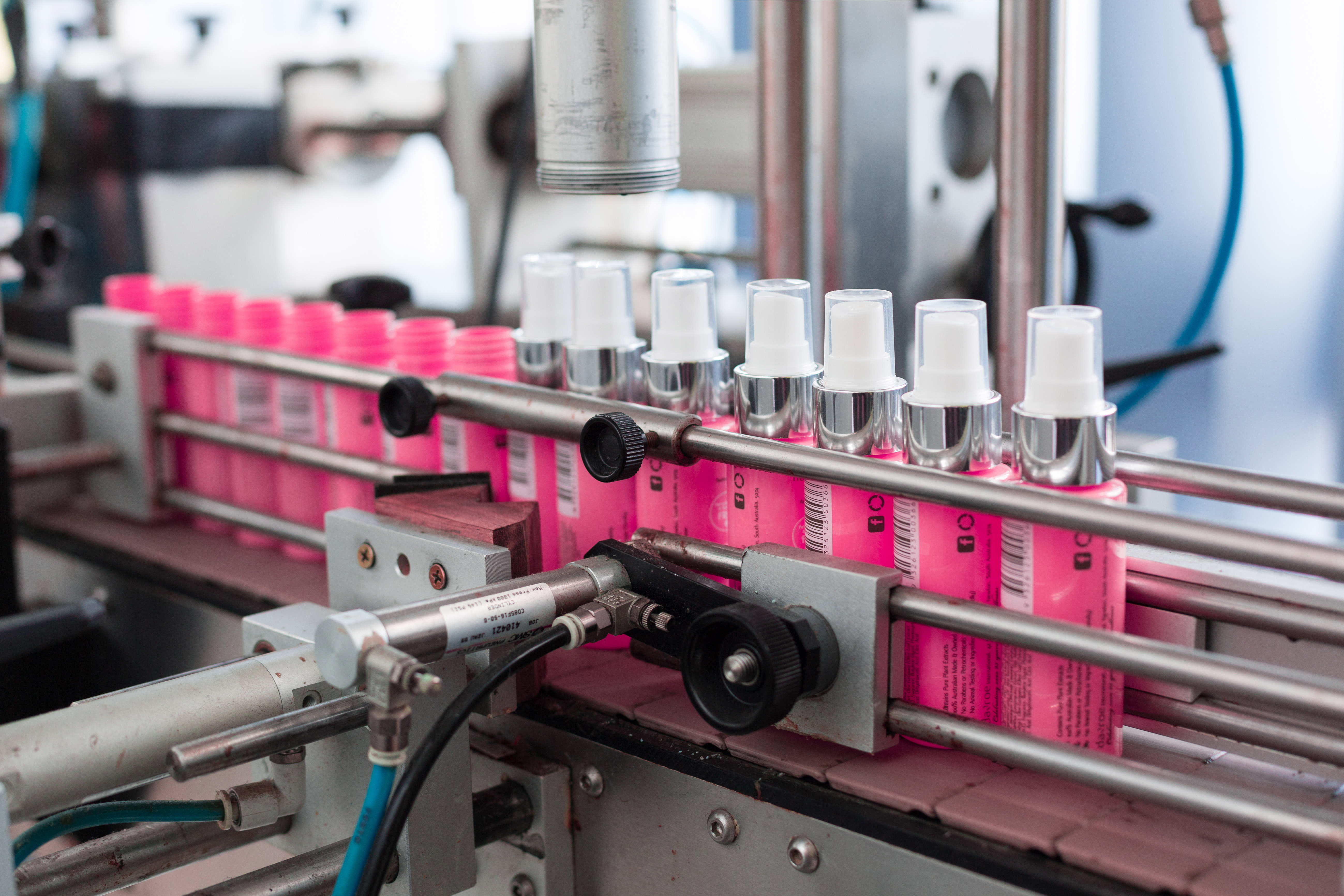 Liquid filling is one of our packaging and assembly solutions
